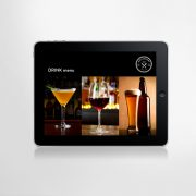 iPad drink menu