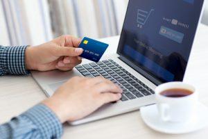 ordering merchandise online
