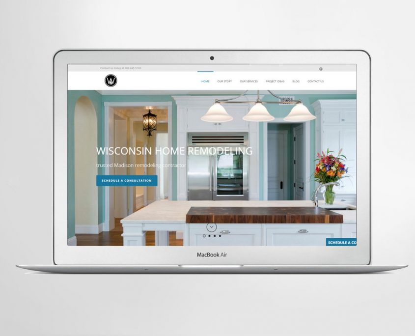 wisconsin home remodeling website - lion tree group - madison wi