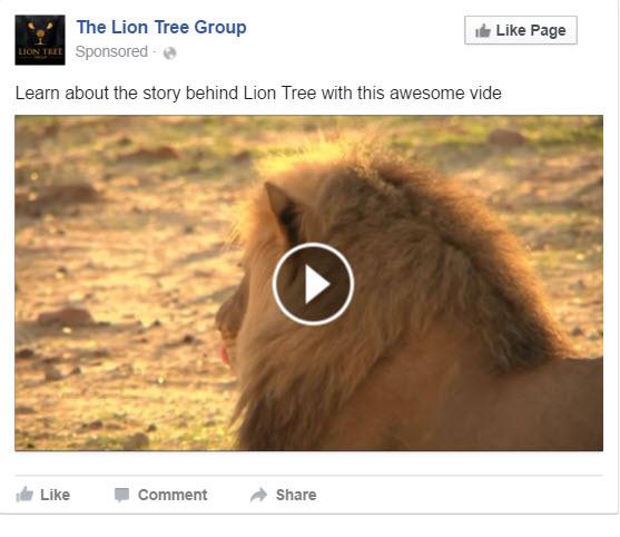 Facebook Get Video Views Ad