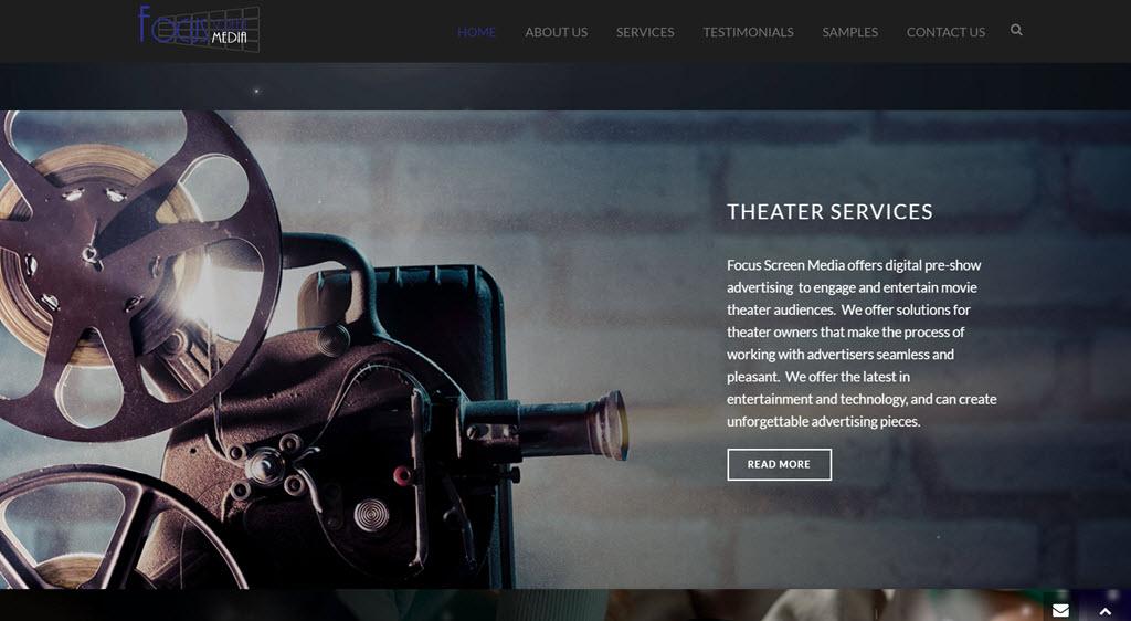 Focus Screen Media Theater Services