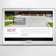 Fink's Paving Website