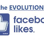 evolution of likes on facebook